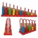 Wooden Abacus Counting Beads Educational Toy