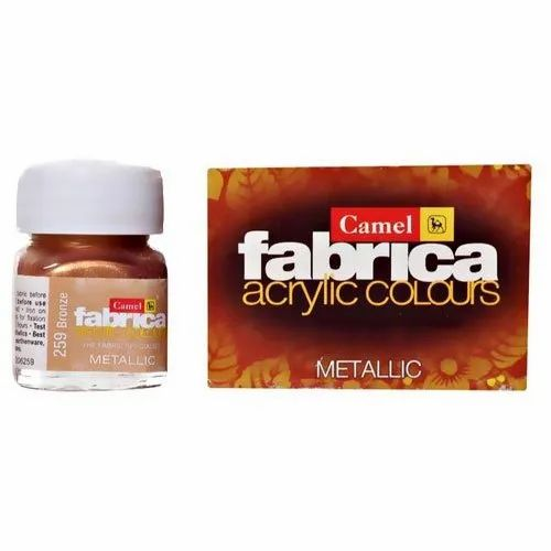 Camel Fabrica Acrylic Colour, Packaging Type: Bottle