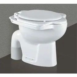 White Floor Mounted A-one Anglo Indian Water Closet, Size/Dimension: 515x450x405 Mm