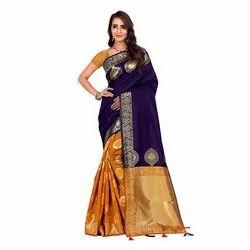 716 Woven Art Silk Saree