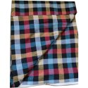Check Poly Cotton Fabric