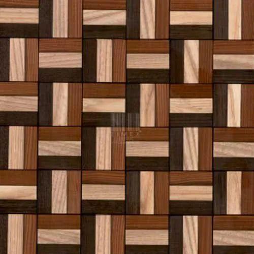 TM-1014 Wooden Mosaic Sheet