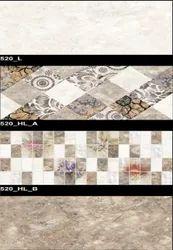 520 (L, HL-A, HL-B) Hexa Ceramic Tiles