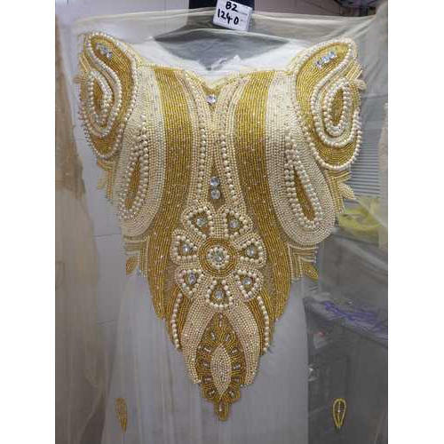 f0301d88886de0 Unstitched Net Designer Beaded Lace Blouse, Size: 1.5 Meter, Rs 1300 ...