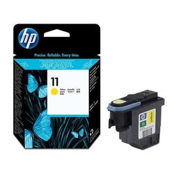 HP 11 Yellow Original Ink Cartridge (C4838A)