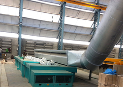 Lip Type Zinc Fume Suction Duct