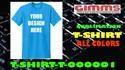 Plain Half Sleeve Mens Cotton Blue Round Neck T Shirts