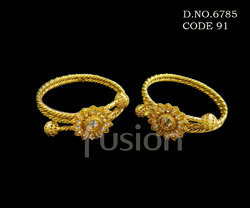 Traditional LCT Stone Antique Bangles