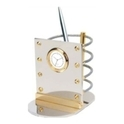 Cube Desk Stand with Digital Clock