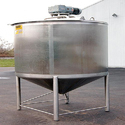 SS Conical Tank With Agitator