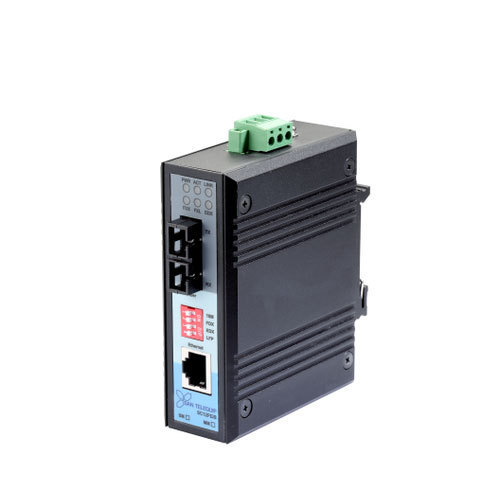Industrial Grade Ethernet to Fiber Media Converter