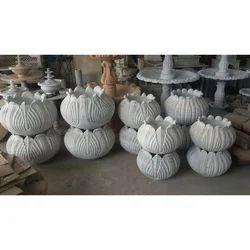 Marble Handicrafts Lotus Pot