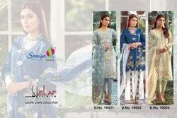 Saniya LELAF PREMIUM LAWN Sanya Trendz Collection