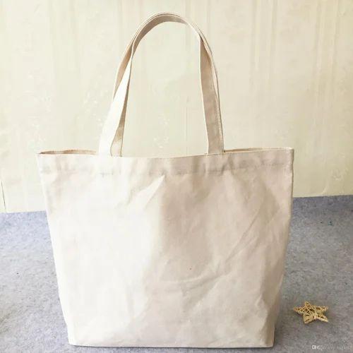 White Plain Cloth Tote Bag
