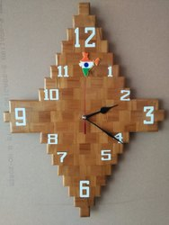 Stylish Wooden Wall Clock