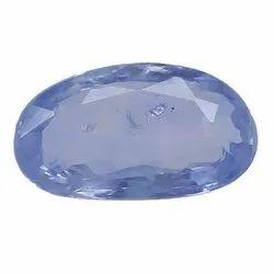 Lustrous Oval - Cut Unheat Ceylon Blue Sapphire