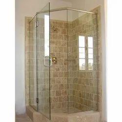 Plain Glass Shower Cubicles, Shape: Flat