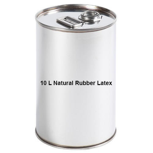 10 L Natural Rubber Latex, Packaging Size: 10 L