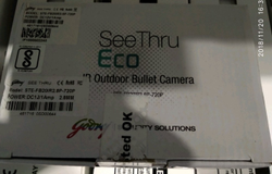 IR Outdoor Bullet Camera