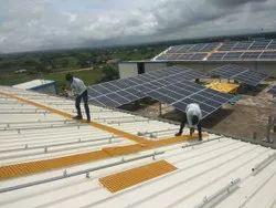 FRP Grating Solar Walkways