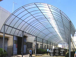 Polycarbonate Shed