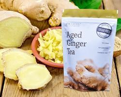Aged Ginger Tea Packaging