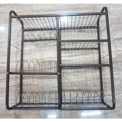 Fortune Blu Stainless Steel Wall Mounted Dish Rack