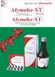 Ferrous Ascorbate 100mg  Folic Acid 1.5mg  Zinc Sulphate Monohydrate 22.5mg