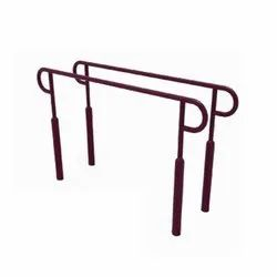 Mild Steel Crossfit Twin Gym Bar, For Fitness