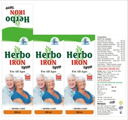 herbasia Iron Syrup, Packaging Type: 200ml, Non prescription