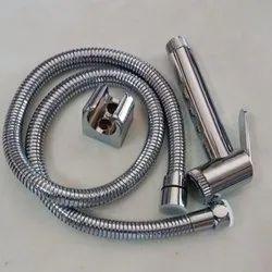 Silver Stainless Steel Bathroom Jet Spray Set