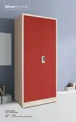 Sharan 2 Doors Iron Almirah, Size: 79X36X21