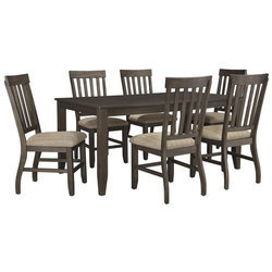 Brown 6 Seater Dining Table