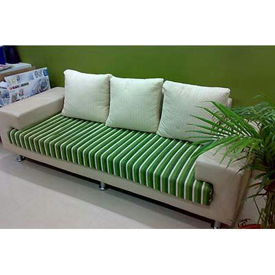 Beau Wood Polished Sofa Set