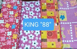 King 88 Cotton Mix Printed Fabric