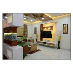Flat Interior Designing, Size: Depend Size