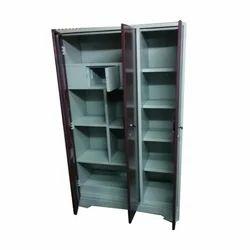 3 Door Polished Steel Almirah
