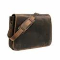 Genuine Buffalo Leather Cross Body Messenger Bag For Mens And Womens Available For Bulk Sale