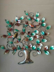 Tree Iron Wall Mount Handicrafts IHK13022