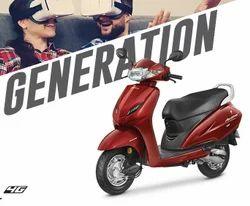 Imperial Red Metallic Honda Activa 4G