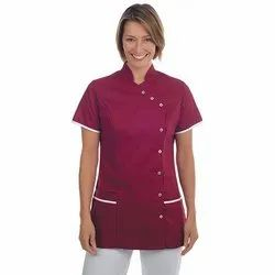 Female Pure Cotton Two Pocket Hospital Uniforms