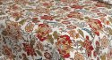 Floral Print Cotton Double Bedsheet