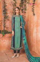 Churidar Embroidered Ladies Suits