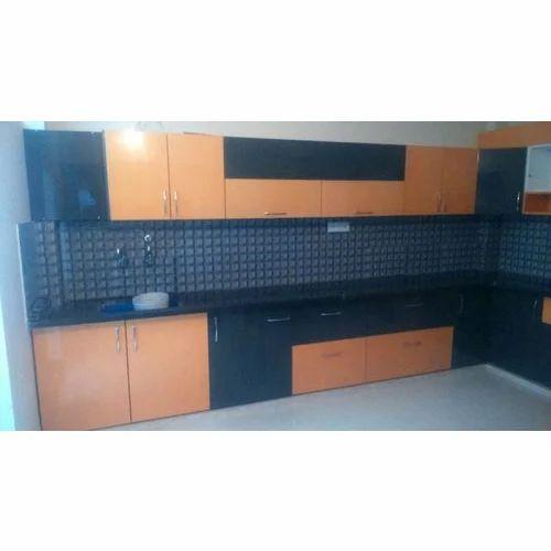 Modern House L Shape Kitchen