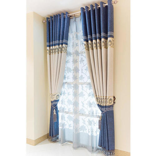 Star Blients BlueWhite Curtain