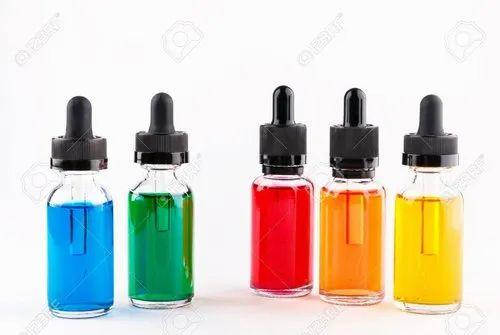 Colored Eye Dropper Bottles
