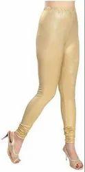 Casual Wear Plain Black Cotton Ladies Legging
