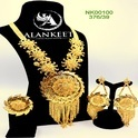 Trendy Gold Plated Set