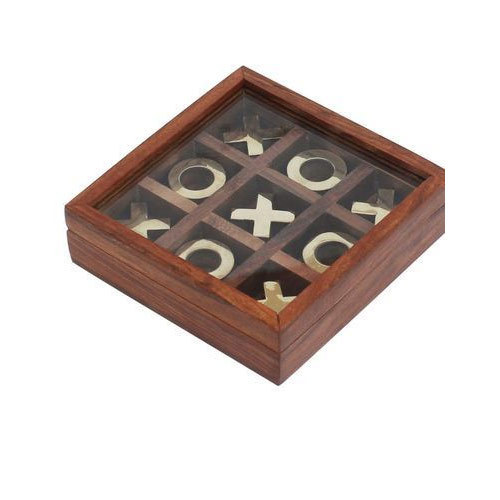 Wooden Tic Tac Toe Game At Rs 160 Piece Wooden Game Id 14521186088