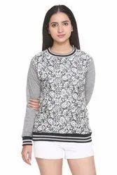 PWS-1501 Printed Round Neck Sweatshirts